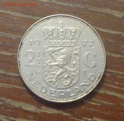 НИДЕРЛАНДЫ - 2,5 гульдена 1972 ЮЛИАНА до 8.09, 22.00 - Нидерланды 2,5 гульдена 1972 Королева Юлиана_1