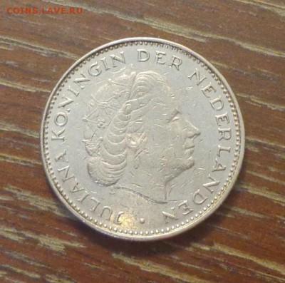 НИДЕРЛАНДЫ - 2,5 гульдена 1972 ЮЛИАНА до 8.09, 22.00 - Нидерланды 2,5 гульдена 1972 Королева Юлиана_2