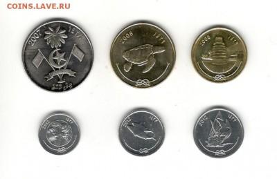 Набор Мальдив, 6 монет разных номиналов. Фикс! - Мальдивы, 2