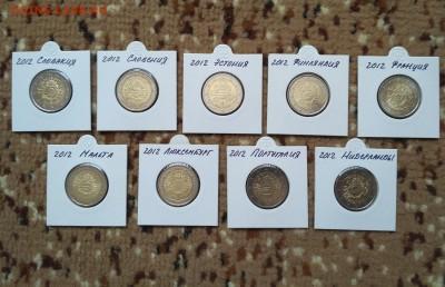 Юбилейные 2 евро 2012 10 лет обращению UNC до 15.09 22:00 - 2012-3 обращ