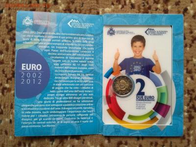 Юбилейные 2 евро 2012 10 лет обращению UNC до 15.09 22:00 - 2012-6 обращ