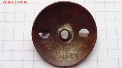 Знак Вильманстрандский мушкетёрский 12Ф.С.П. Без реставрации - DSC00230.JPG