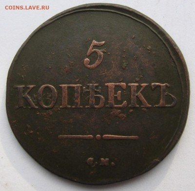 5 копеек 1831 г. СМ - IMG_4556