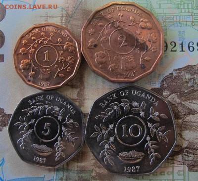 Фикс: набор монет Уганды, 4 штуки. - Уганда 1.JPG