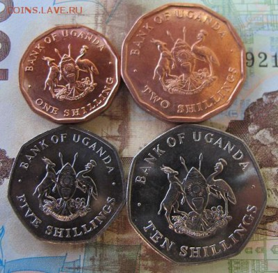 Фикс: набор монет Уганды, 4 штуки. - Уганда 2.JPG