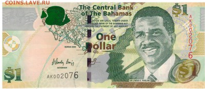 Багамы 1$ 2015 до 25.09.2017 в 22.00мск (Е252) - 1-баг1-08а