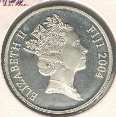 Ag Фиджи 2 доллара 2004 Футбол до 25.09.17 в 22.00мск (Е333) - 5-ф