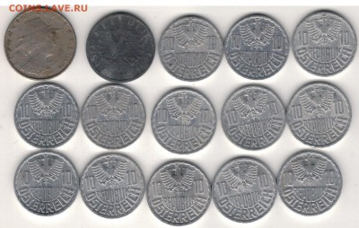 Австрия подборка №1 10 грошей 25.09.2017 в 22.00мск (Е200) - 3-ав№1