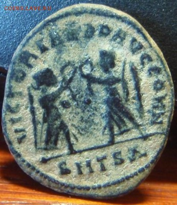 Древняя медная монетка с Правителем. - fwe 006.JPG