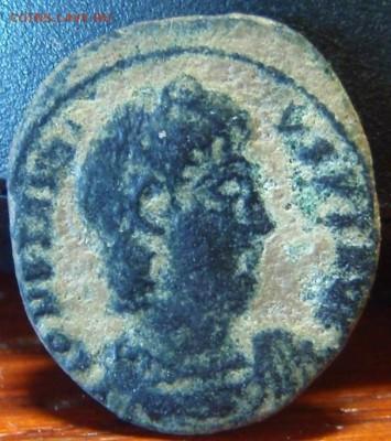 Древняя медная монетка с Правителем. - fwe 001.JPG