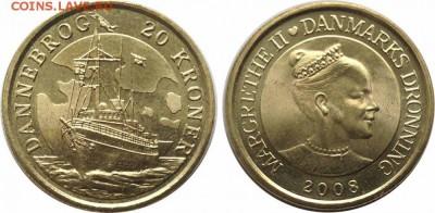 Разыскиваю монеты с кораблями и морской тематикой - данеброг_enl