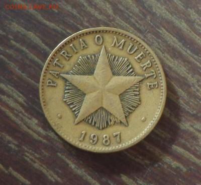 КУБА - 1 песо ЗВЕЗДА до 6.10, 22.00 - Куба 1 песо1987_1 Звезда
