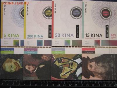 Бугенвиль набор 4 банкноты 2016 г. Художники 2-й выпуск UNC - 46026856
