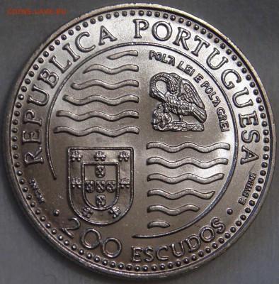 200 эскудо Португалии 1995 г., Принц Иоан II 1495 - 1995 гг. - DSC03011.JPG