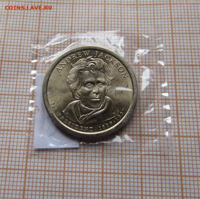 США 1 доллар 2008 Президент №7 Эндрю Джексон D.До 12.10. - ллл.JPG