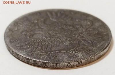 Монета рубль 1737 - 3-3