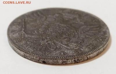 Монета рубль 1737 - 4-4