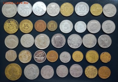 190 монет мира без повторов - IMG_20171022_155306