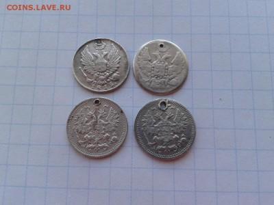 4 серебрянных пятачка 1815, 1847, 1892, 1899 до 26.10.2017 - 4пят (2) - копия