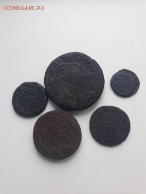 Лот монет Екатерины II 6 шт, до 01.11.2017 22:00 мск - 20171022_120807