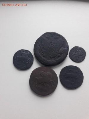Лот монет Екатерины II 6 шт, до 01.11.2017 22:00 мск - 20171022_120832