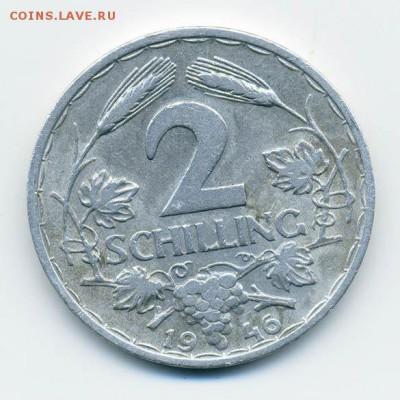 Австрия 2 шиллинга 1946 - Австрия_2шиллинга-1946_Р