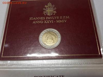 2 евро Ватикан 2004 75 лет государства Ватикан  буклет - 2017-10-30 19.50.12