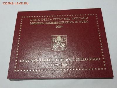 2 евро Ватикан 2004 75 лет государства Ватикан  буклет - 2017-10-30 19.50.04