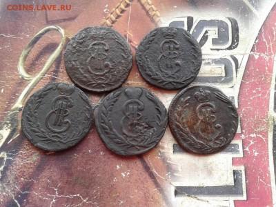 5 сибирских копеек 1768, 1769, 1771, 1772, 1773 до 05.11.17 - 5сиб - копия