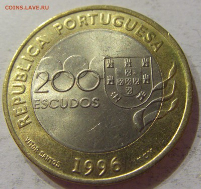 200 эскудо 1996 Атланта Португалия №1 11.11.2017 22:00 МСК - CIMG9869.JPG