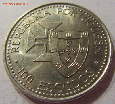 100 эскудо 1989 Мадейра Португалия №1 11.11.17 22:00 - CIMG9913.JPG