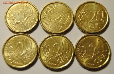 20 евро центов 2009-2012 Бельгия 6шт до 08.11.2017 в 22:15 - DSC_1714.JPG