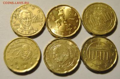 20 евро центов 2001-2007 Бельгия, Италия, Австрия, Греция - DSC_1724.JPG