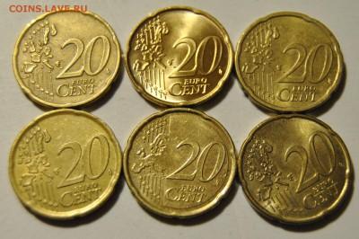 20 евро центов 2001-2007 Бельгия, Италия, Австрия, Греция - DSC_1723.JPG