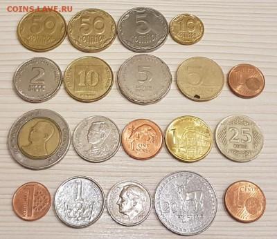 Сборный набор из 19 ин. монет до 22.00 01.12.2017 г. - 3-1