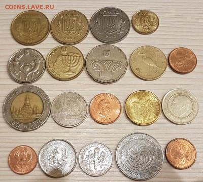 Сборный набор из 19 ин. монет до 22.00 01.12.2017 г. - 3-2