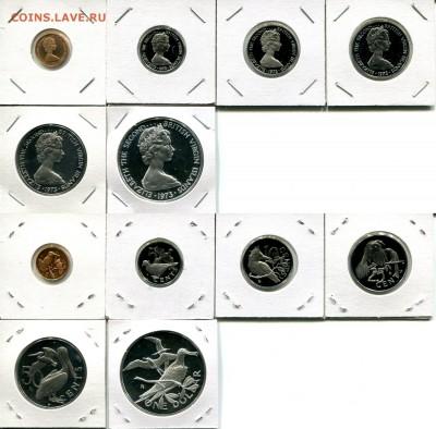 Бр.Виргинские о-ва набор 1973 птицы до 30.11.17 22-00 мск - BVI 1973 pr.set