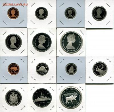 Канада СЕМЬ наборов 1976-1991 + Бонус до 02.12.17 22-00 мск - Canada 1985 set.