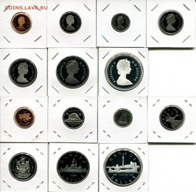 Канада СЕМЬ наборов 1976-1991 + Бонус до 02.12.17 22-00 мск - Canada 1984 set.