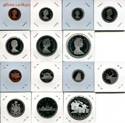 Канада СЕМЬ наборов 1976-1991 + Бонус до 02.12.17 22-00 мск - Canada 1981 set