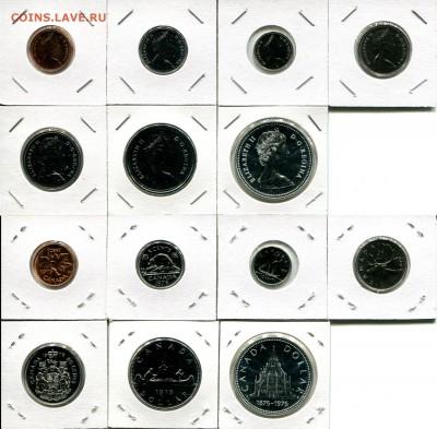 Канада СЕМЬ наборов 1976-1991 + Бонус до 02.12.17 22-00 мск - Canada 1976 set.