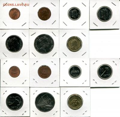 Фиджи подборка 1с-1$ после 1990 до 02.12.17 22-00 мск - Fiji 1990... dif