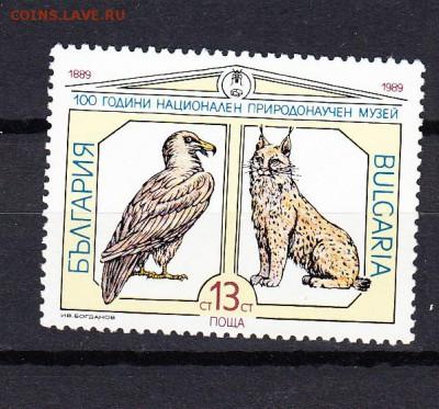 Болгария 1989 фауна 1м - 43в
