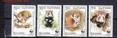 Болгария 1994 фауна - 43д