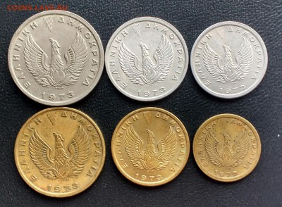Монеты Греции 1954 - 2000 г.г. - IMG_20171209_143713
