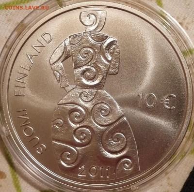 10 евро 2011 Финляндия (Хелла Вуолийоки и равенство) - 1
