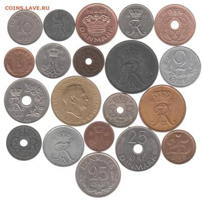 монеты Дании 20 шт. до 28.12 в 22.00 - IMG_0004