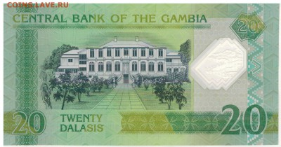 Гамбия 20 даласи 2014 Юбилей полим. 01.01 в 22.00мск (Е260) - 1-1гам20юб