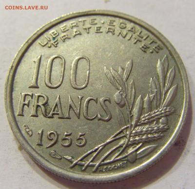 100 франков 1955 Франция №1 04.01.2018 22:00 МСК - CIMG5118.JPG