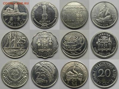 12 монет экзотических стран - №2
